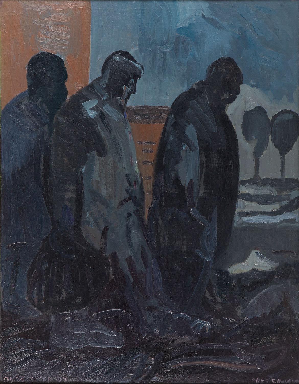 """""""Obszczymury"""" z cyklu """"Sportowcy"""", 1985"""