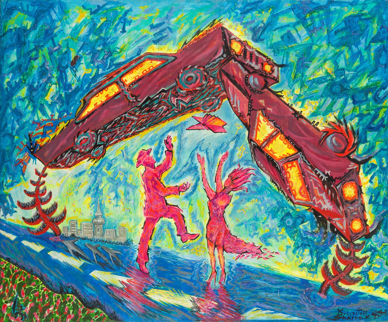 """""""Latające samochody"""", 1988"""