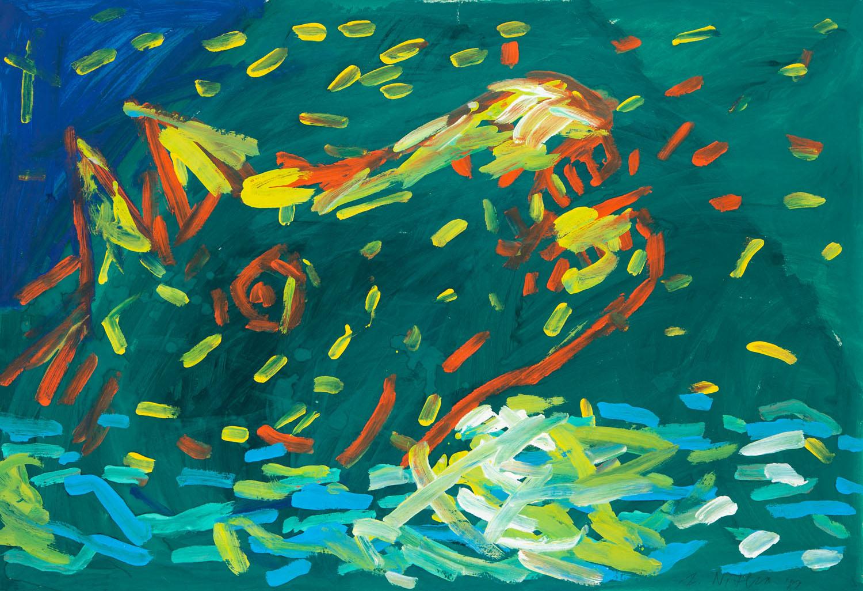 """""""Tonący koń"""", 1989"""