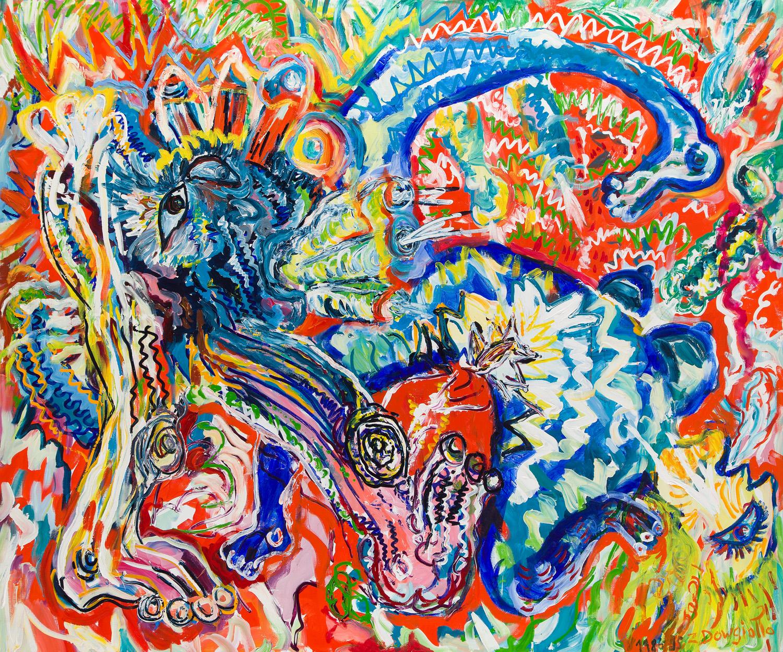 """""""Fruwający Picasso w trakcie latania"""", 1986-1995"""