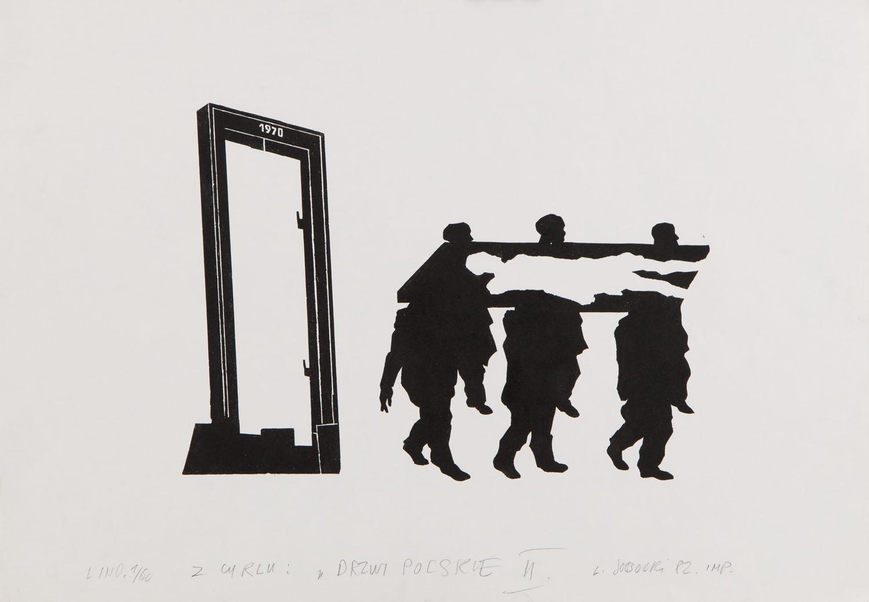 """Z cyklu """"Drzwi polskie II"""", 1982"""