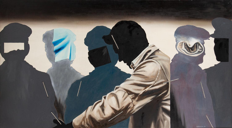 """""""Spinacze II"""" z cyklu """"Symptomy"""" , 1980"""