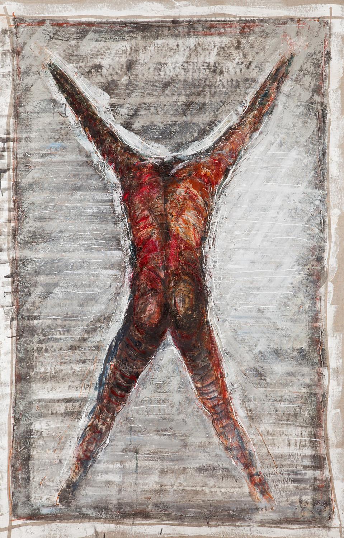 """""""Postać z podniesionymi rękoma"""", 1988"""
