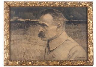 Portret Naczelnego Wodza, Józefa Piłsudskiego, 1922 r.