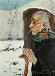 Odpoczynek wędrowca (Autoportret), lata 50.