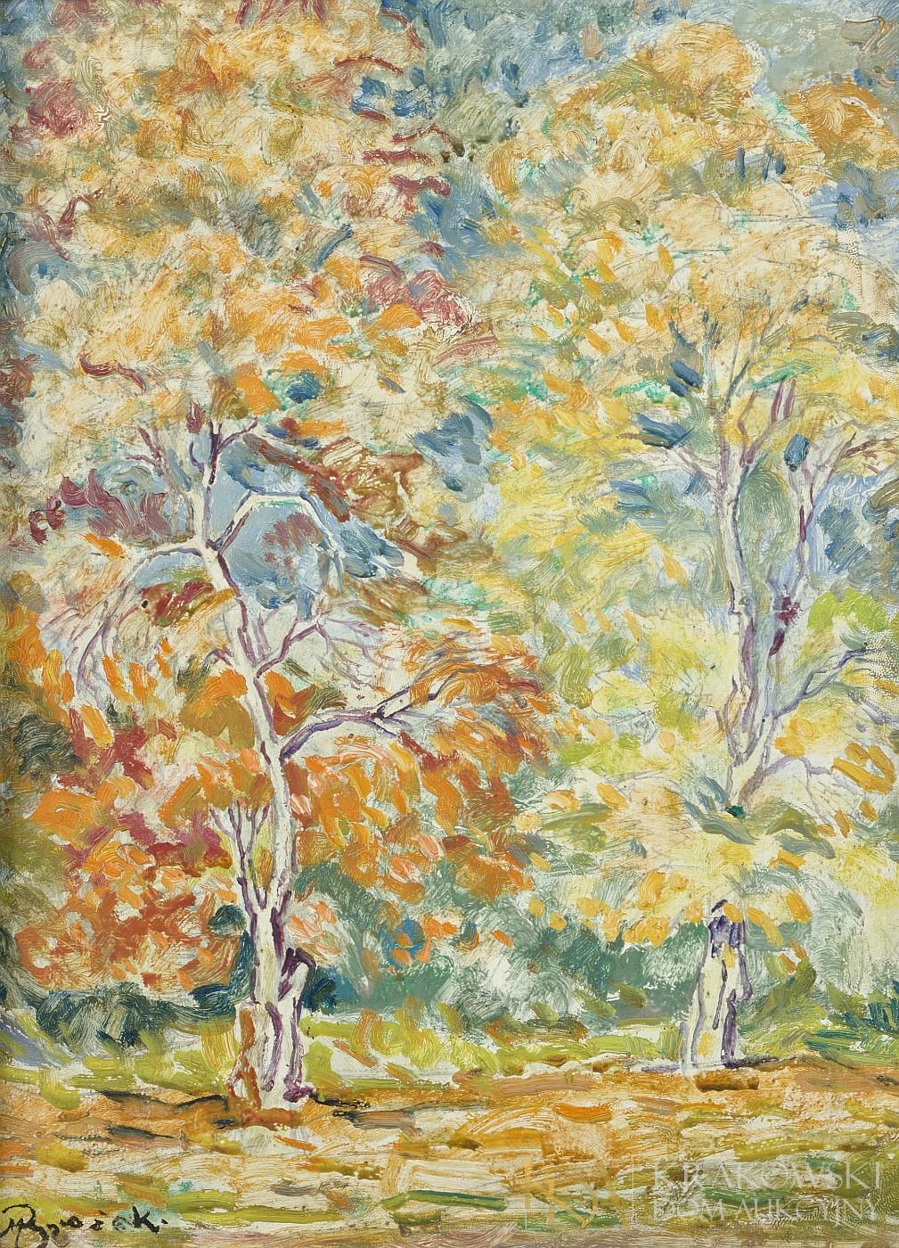 Drzewa w jesieni