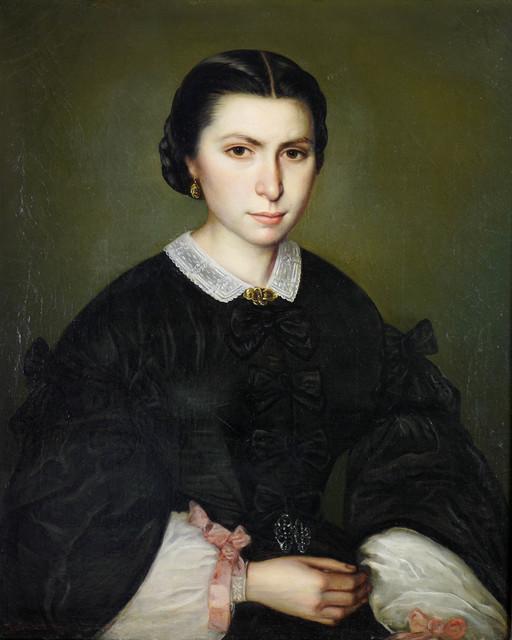Portret damy 1861 r.
