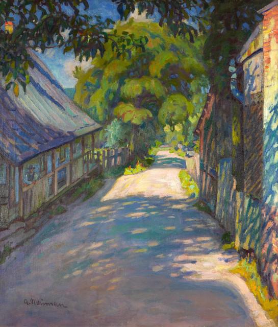 Droga pod Kazimierzem Dolnym
