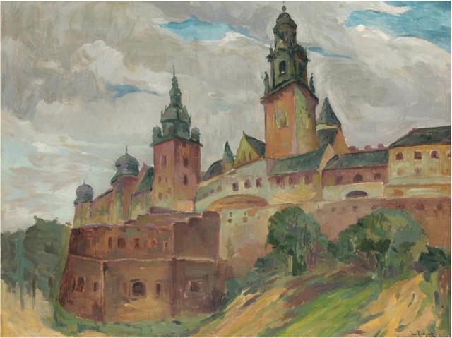Kraków - widok na Wawel
