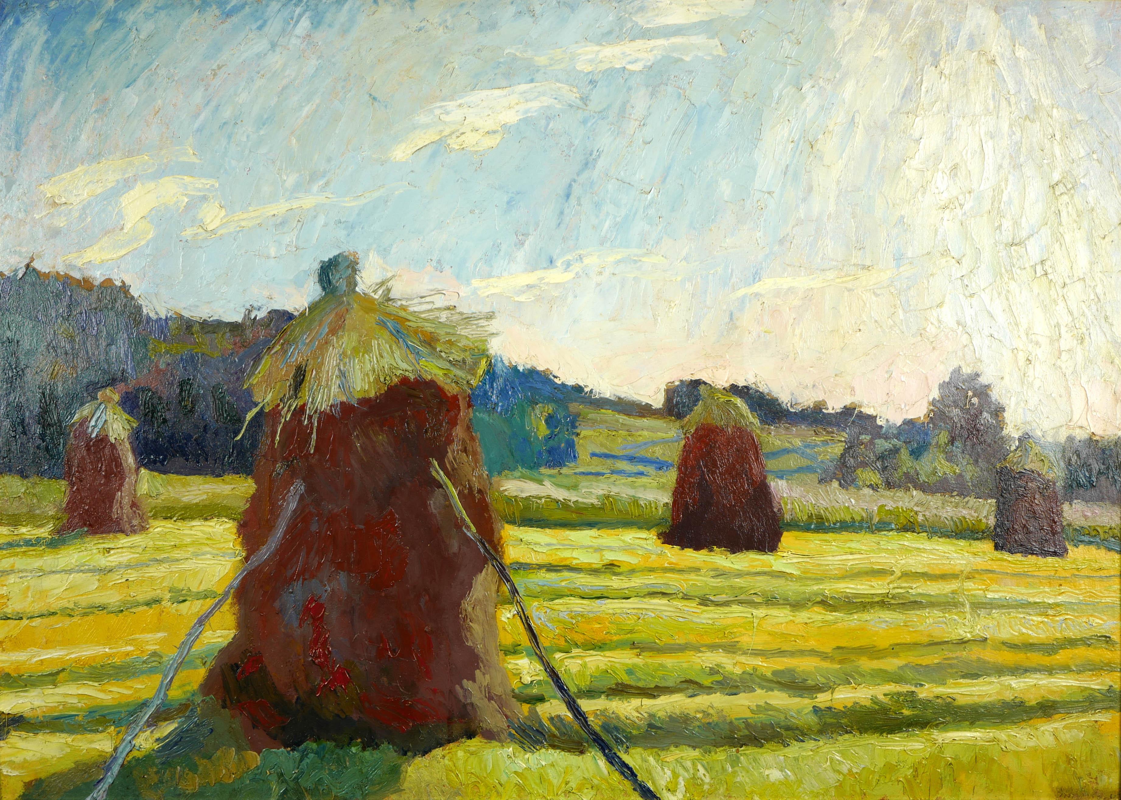 Snopy w polu