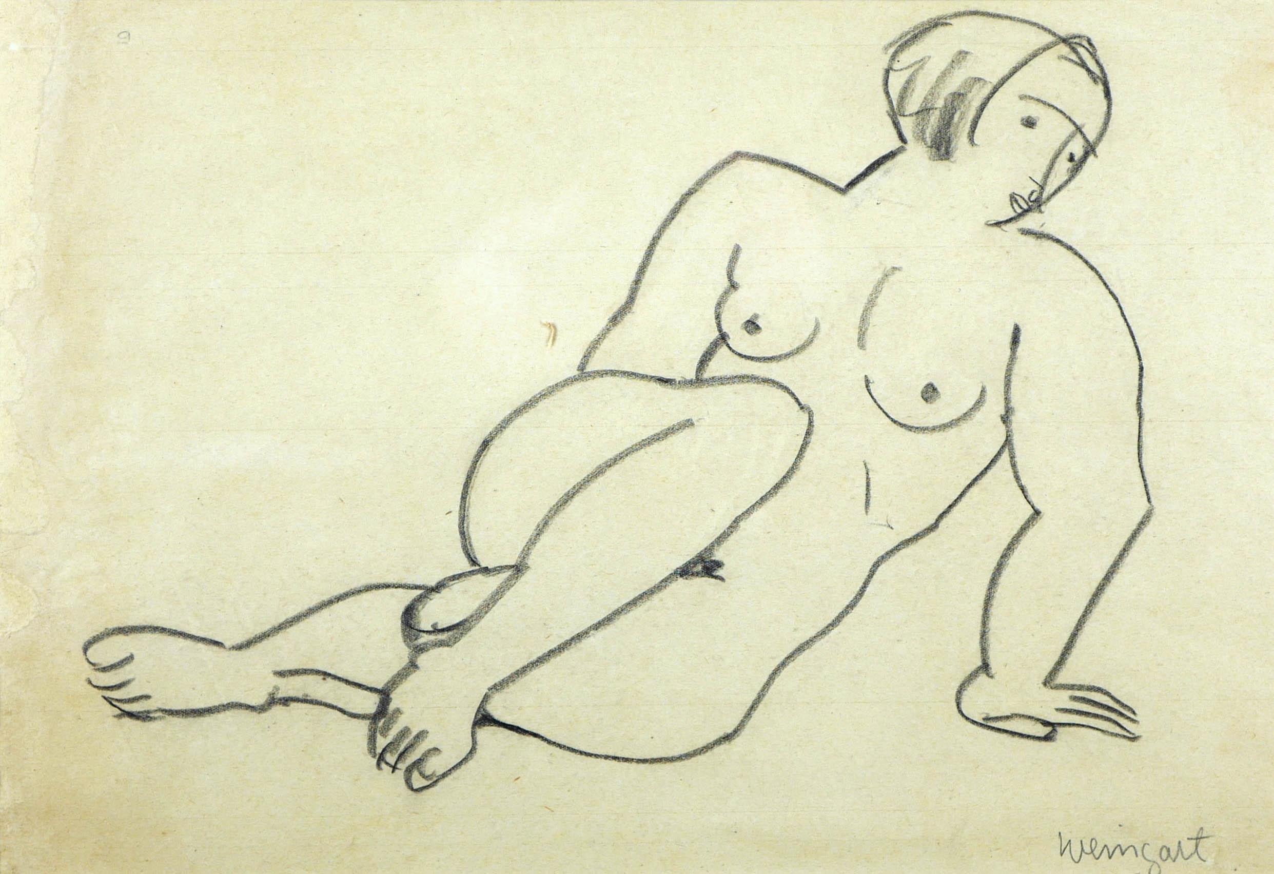 Nu Allongé, 1925 r.