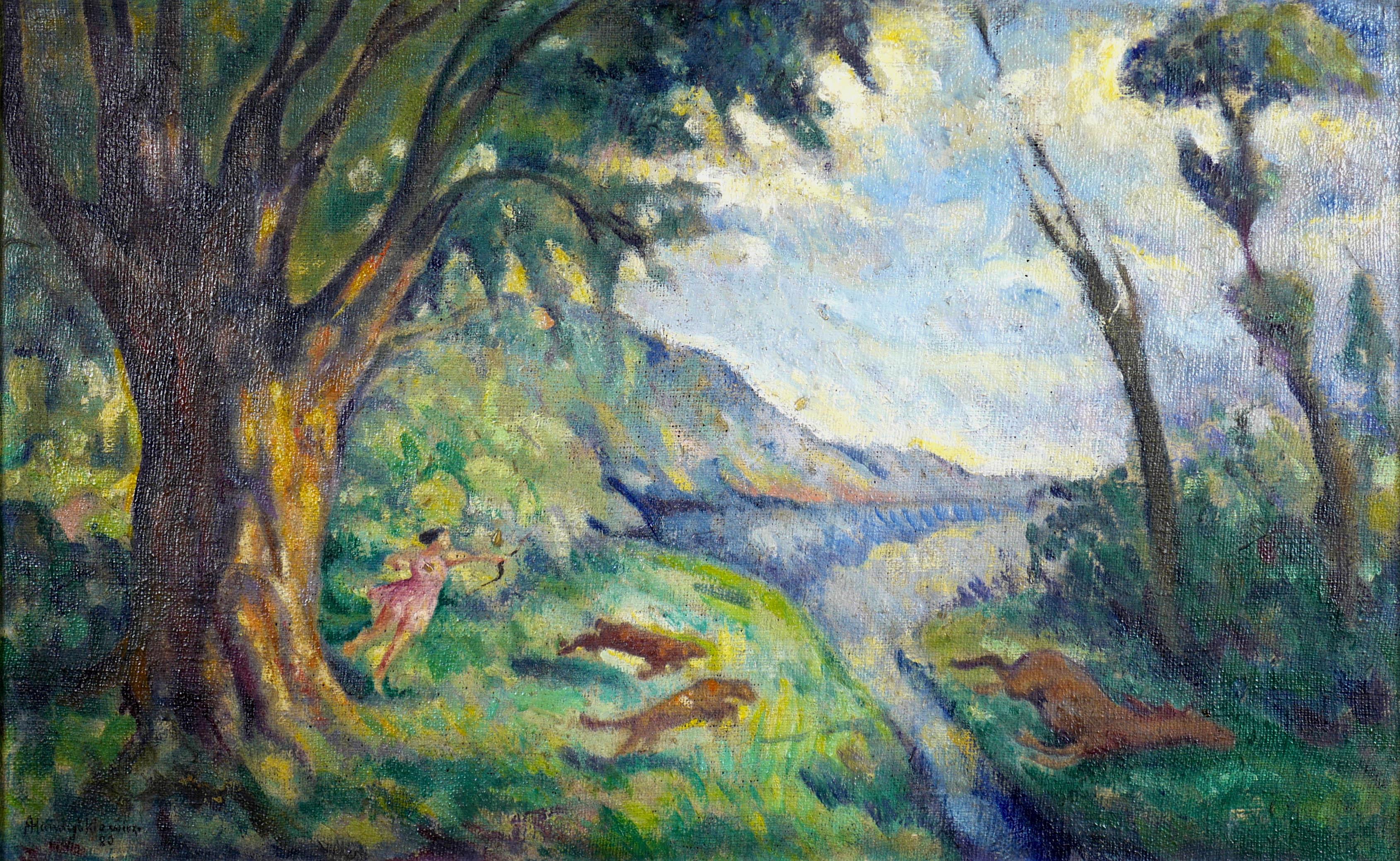 Polowanie, 1920