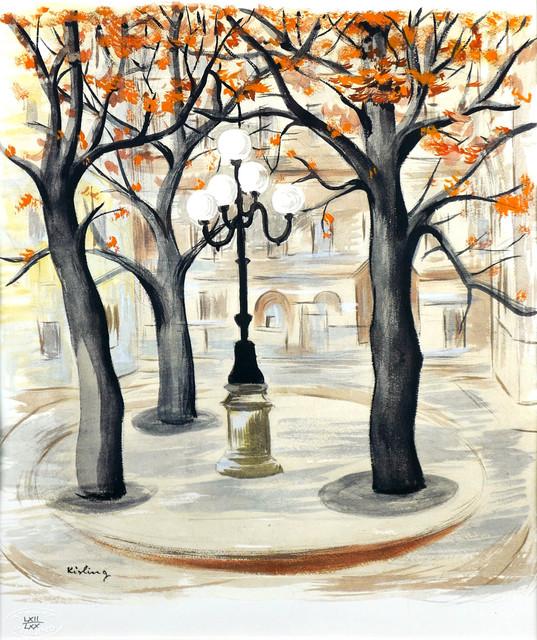 Plac de Furstenberg w Paryżu
