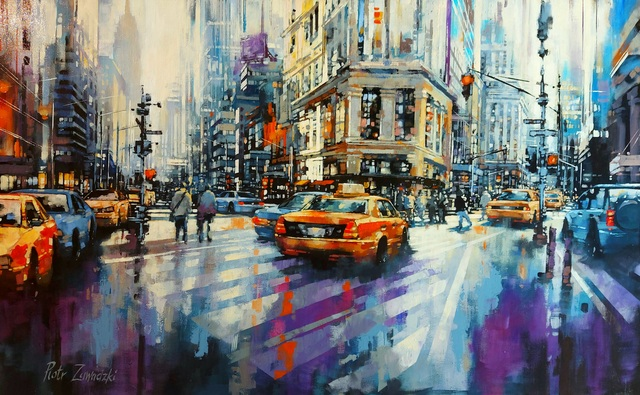 Metropolis - New York Sun II, 2021