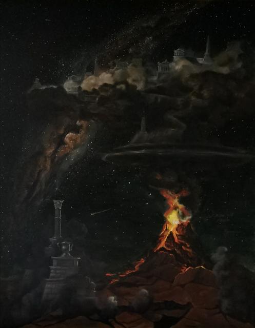 Wybuch Góry Olimp, 2020