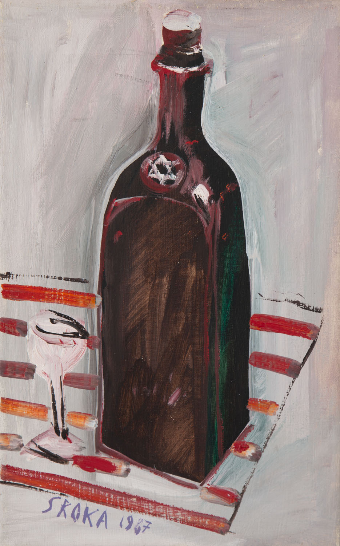 """Żydowska martwa natura"", 1987"