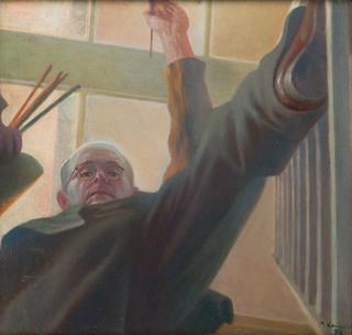 """""""Moje zdanie (Autoportret)"""", 1957"""