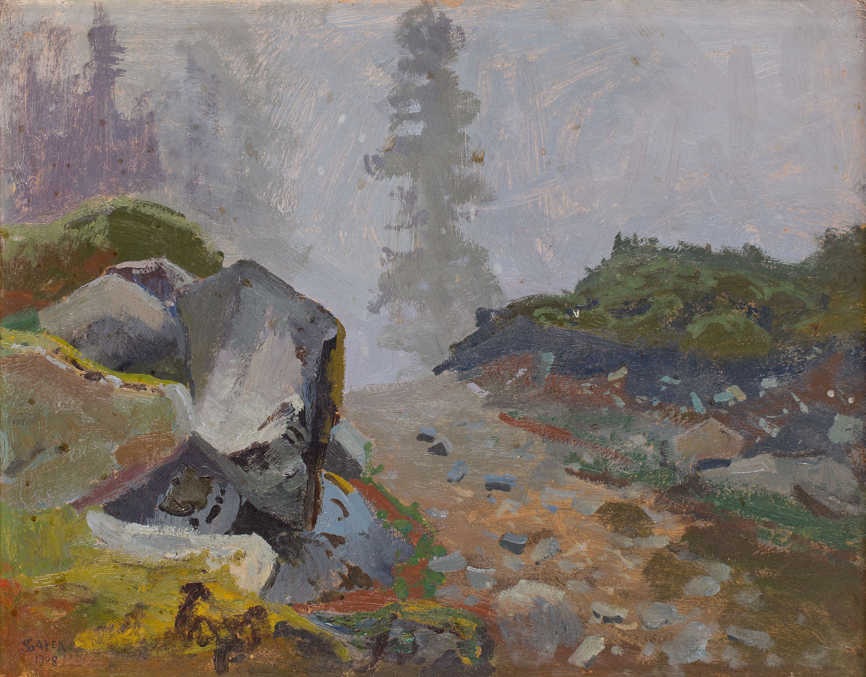 W Tatrach, 1908