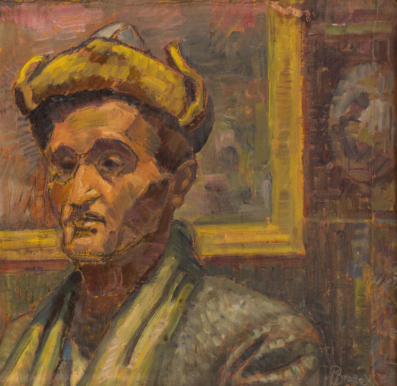 """Autoportret"", lata 50. XX w."