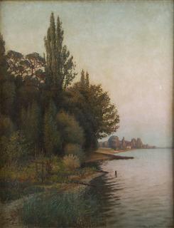 Na brzegu jeziora, 1895