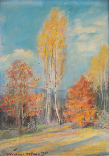 Jesień w Szklarskiej Porębie, 1957