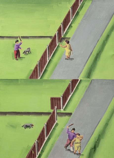 Dostał pies i sąsiadka, 2001