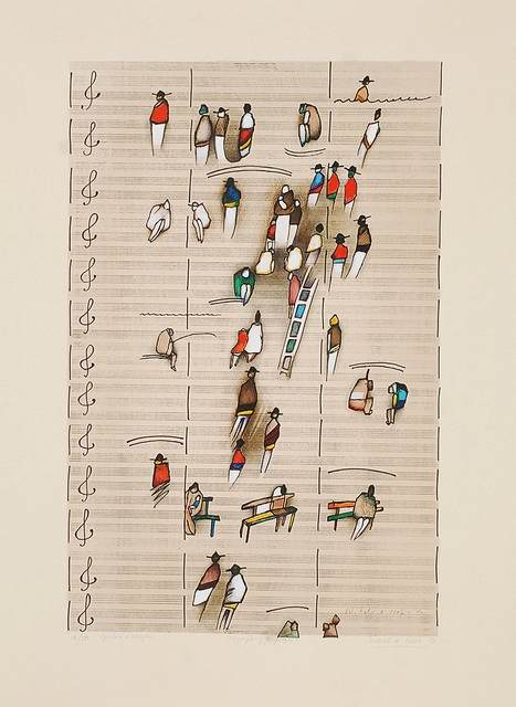 Symphony for people, 2001