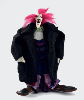 Lalka - klaun, 1996