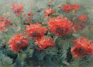 Ogród pełen kwiatów, 1960