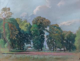 W parku, 1923