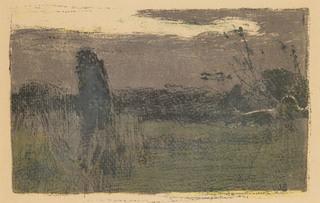 Sad ukraiński (Krajobraz o zmroku), 1904