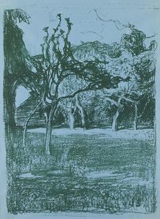 """""""Sad"""" (na niebieskim papierze), 1899"""