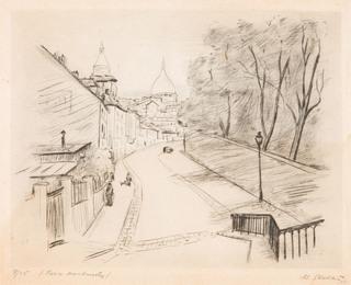 """""""Paris Montmartre"""", 1933"""