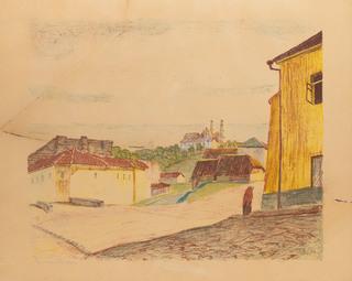 """Spod baszty z teki """"Wilno"""", 1929"""