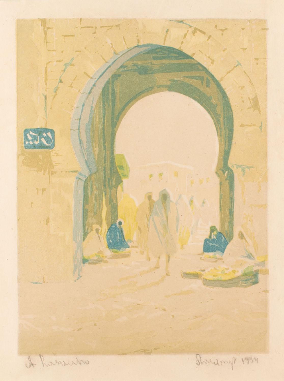 Brama w Sidi bel Abbass, 1934