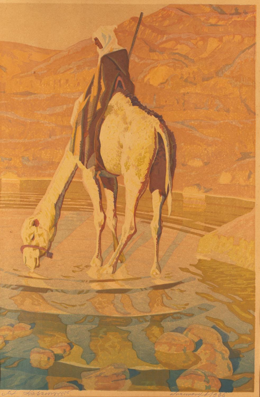 Beduin na wielbłądzie, 1936