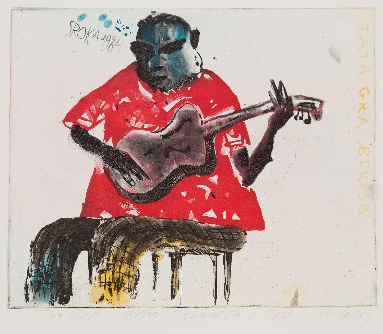 """""""Tata gra bluesa"""", 1984"""