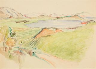 Krajobraz, 1941