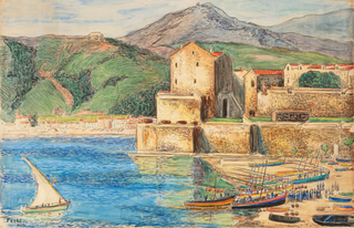 Port Collioure, 1940