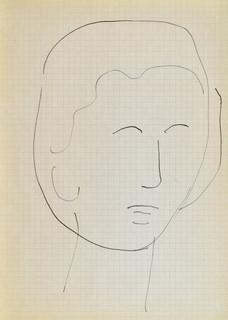 Głowa młodej kobiety IV, 1963