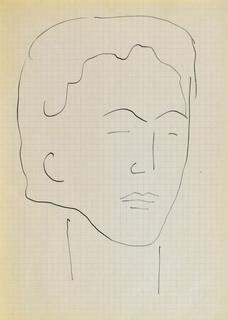 Głowa młodej kobiety III, 1963