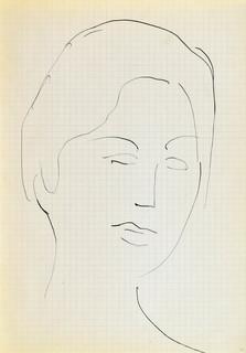 Głowa młodej kobiety II, 1963