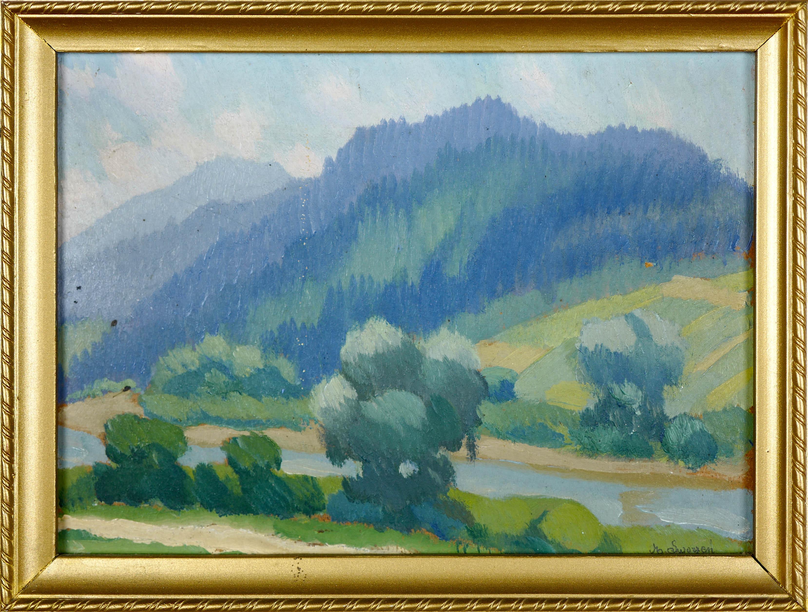 Dunajec w Pieninach, ok 1930 r.