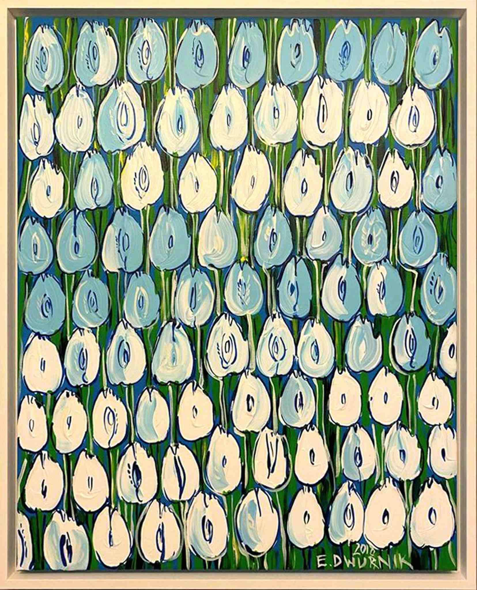 Błękitne tulipany, 2018