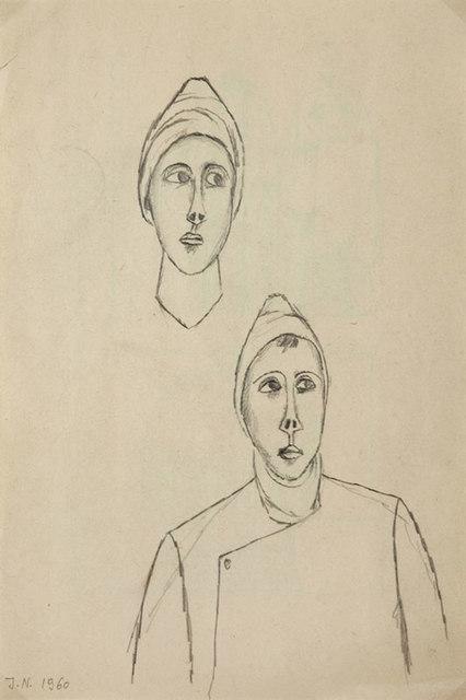 Szkic dwustronny, 1960