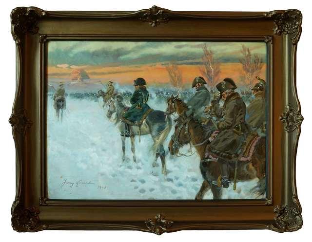 Powrót Napoleona z Moskwy, 1940