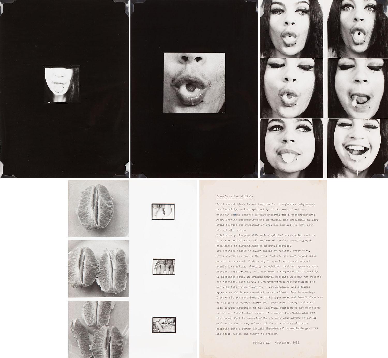 "Prace z cyklu ""Sztuka konsumpcyjna"", 1973"