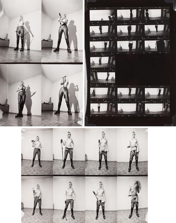 """Bez tytułu (1970) oraz praca z cyklu """"Impresje"""" (1973), 1970-1973"""