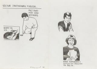 """""""Szczur zaatakował Kubusia"""", 2003"""