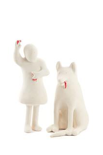 """Rzeźba z cyklu """"Dzieci i zwierzęta"""", 2008"""